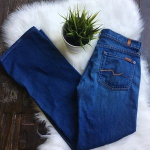 7 SEVEN FOR ALL MANKIND Boot Cut Jeans Women's 28